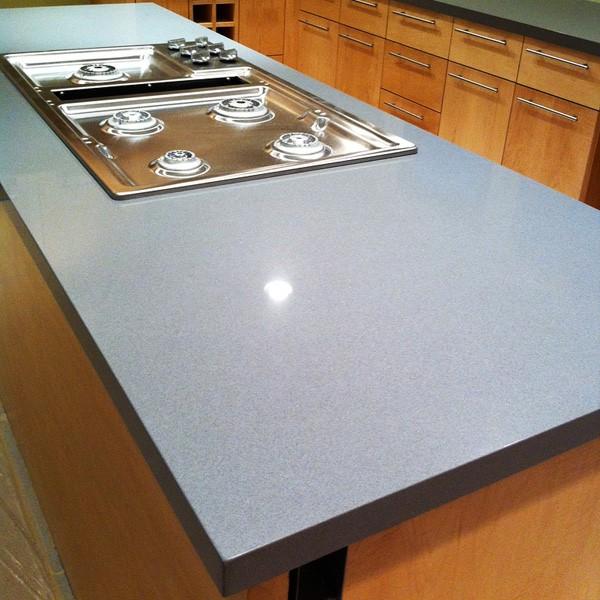 Countertop from composite stone - Gobi Grey