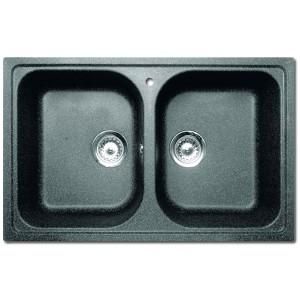 Teka Sink : Granite Sink TEKA ALBA 80 B-TG
