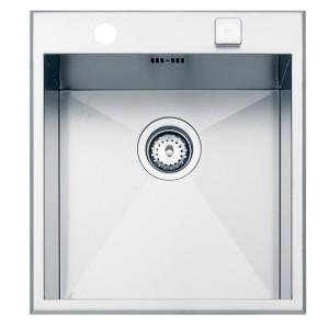 Stainles steel sink TEKA LINEA 450 S 450x500